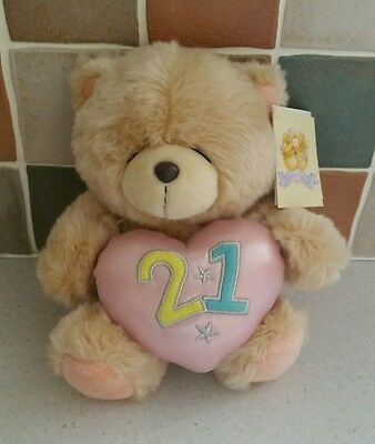 Forever Friends bear 21 plush with tags