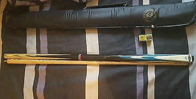 BCE Mark Selby ELECTRIC SHOCKWAVE 2pc Ash Snooker Pool Cue