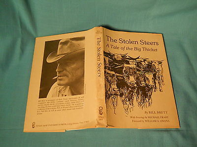 Collectible THE STOLEN STEERS Tale of the Big Thicket Bill Brett Illustrated HB