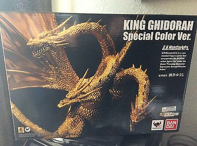 SH MonsterArts King Ghidorah Special Color Version BRAND NEW IN BOX!