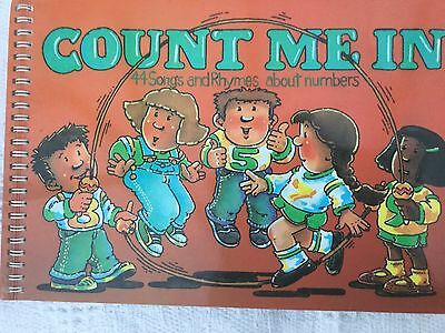 Count Me In song and rhyme Book about numbers A&C Black