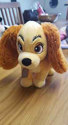 Gorgeous Soft Plush Lady From Lady And The Tramp