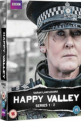 Happy Valley Complete Series 1&2 [Region 2 Dvd] New & Sealed