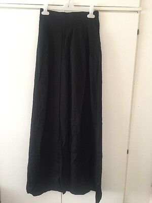 Brand New With Tags Black Skirt - Size 8 - From H&m