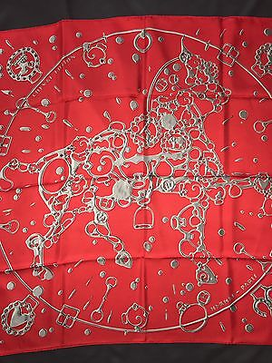Carré  Foulard hermes 90 Cms Soie Cheval Fusion 2014 Neuf Collector Scarf 35