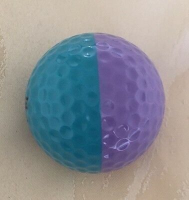 Rare Unused Ping Eye 2 Lavender & Teal Golf Ball Mint Condition. Collectors Item