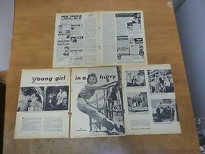 Natalie Wood young girl in a hurry  clipping #532