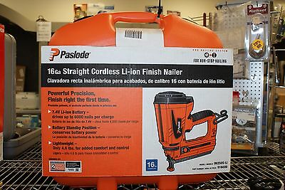Paslode 16-Gauge Straight Cordless Finish Nailer Li-ion im250S-Li (9977)