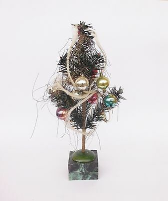 Antique German Small Christmas Tree With Box