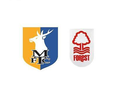 Pre-Season Friendly - Mansfield Town v Nottingham Forest - Sat 22nd July 2017