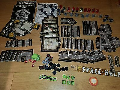 Cheap SPACE HULK 1st edition Board Game complete painted and unboxed [ENG, 1989]