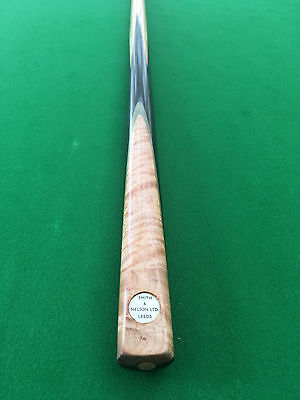 "Smith & Nelson Cue Leeds Ash Shaft Great Condition 58"" 9.5mm 17.9oz"