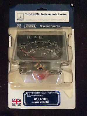 Megger 6121-103 BM102 Insulation Tester Movement