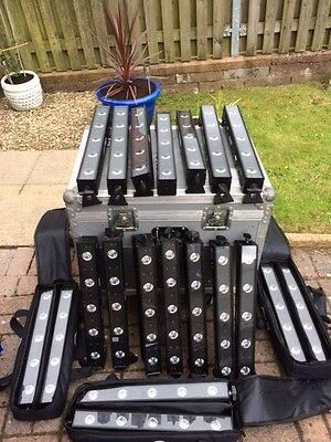 20 X ADJ VBars, Excellent condition and well looked after