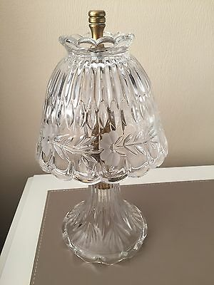 Crystal Glass Table Lamp Light