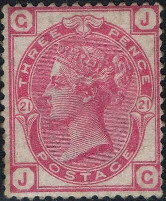 GB, SG158, 3d, Pl.21. Superb, MNH. Cat.£500++.