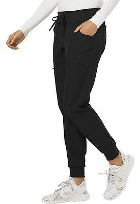 """HeartSoul """"The Jogger"""" Low Rise Tapered Leg Pant in Black (Style: HS030)"""