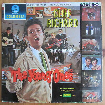 Cliff Richard & The Shadows Lp The Young Ones ( First Press Ex- / G 1962 Stereo)
