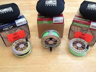 Lamson Guru II Reel size 2 with spare spools and SA lines