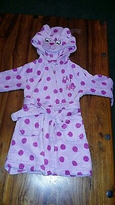 12-18 month girl dressing gown