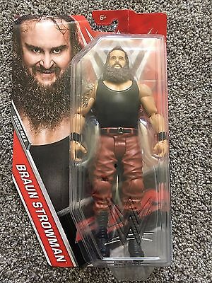 WWE Wrestling Series 68 A Braun Strowman Action Figure Cardboard Damage!