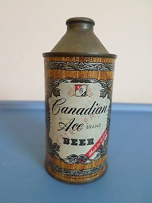 Vintage Canadian Ace Extra Pale Chicago Illinois Cone Top Beer Can GB
