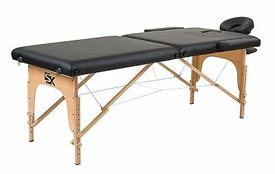 "Extra Wide 30"" Portable Massage/Reiki/Tatoo/Esthetics Table Bed with 4"" Form"