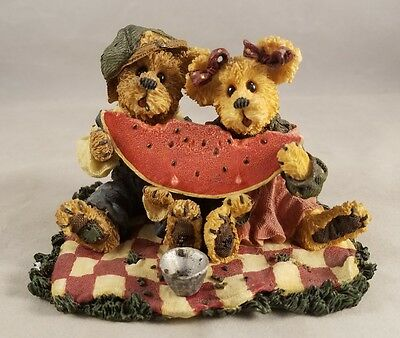 Boyds Bears and Friends Buster and Melonie McRind Sweet Memories 227749