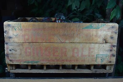 Vintage Crate Wooden  Pure Spring Export