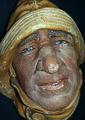 Vintage/Retro Wall Mask/Hanging   LIFE-BOATMAN 1965 By BOSSONS