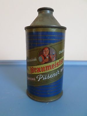Vintage Rare IRTP Braumeister 154-12 Ind. Milwaukee Brewery Cone Top Beer Can GB