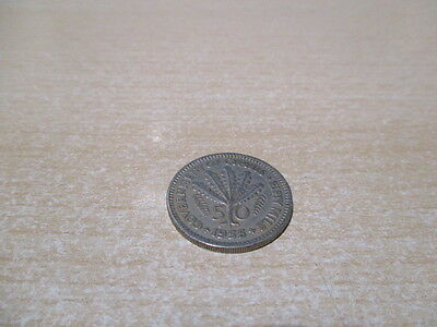 Cyprus coin - 50 Mils - 1955.