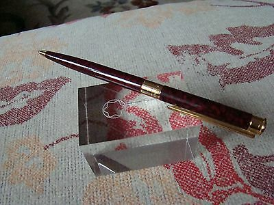 MONTBLANC NOBLESSE Marble Red Lacquer Ballpoint Pen
