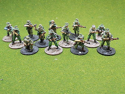 28mm WW2 metal BRITISH in BURMA x13 Chindits Painted Bolt Action 41752