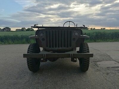 Willys jeep 1944 ford GPW WW 2 jeep classic car military vehicle