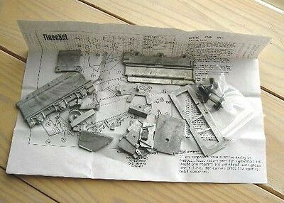 """Wills Finecast OO/HO scale (1/76"""") GWR King Tender Kit"""