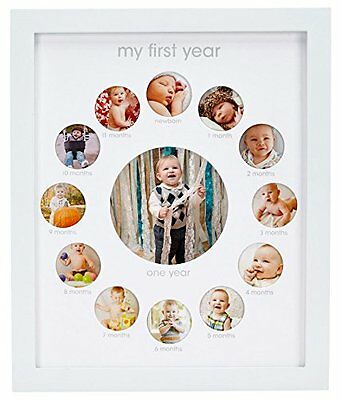 """Pearhead First Year Baby """"Photo Frame (m3e)"""