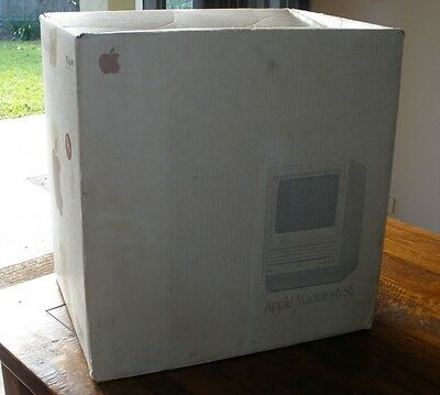 Apple Macintosh SE Vintage Computer Packaging Box ONLY - 1987