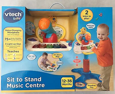 Brand New Vtech Baby Sit To Stand Music Centre In Box