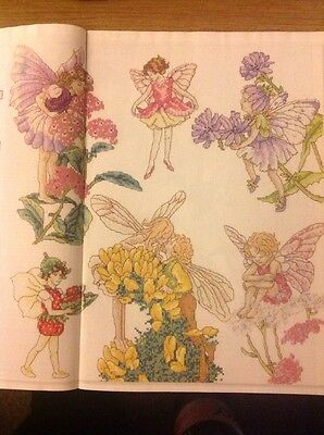 (F) Giant Flower Fairies Chart Cross Stitch Chart