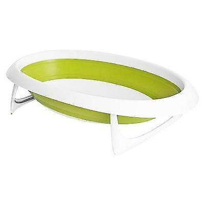 Boon Naked Collapsible Baby Bathtub Green,Green/White New