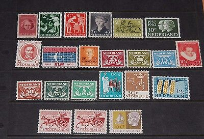 Netherlands  Small Mint Collection,,good Pickings X22   M/n/h,,m/l/h