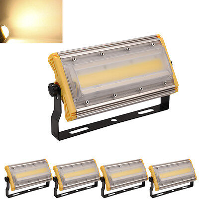 5x COB 50W LED Floodlight Linear Outdoor Advertising Billboard Commercial Lights