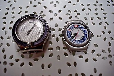 Lot of 2 Swatch Watches - Parts or Repair