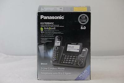 Panasonic Cordless phone w/ 2-Lines, Link2Cell and Digital Answering system