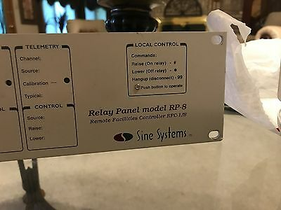 Sine Systems Relay Panel Model RP-8