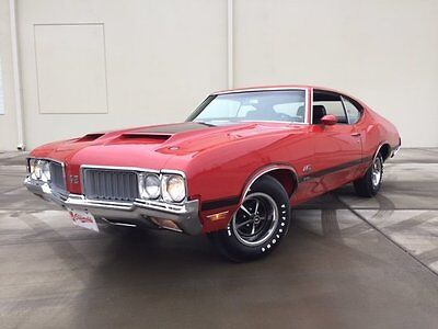 1970 Oldsmobile 442  1970 Oldsmobile 442 W-30 4-Spd Documented All numbers match Red Incredible Car!