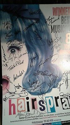 Signed broadway posters