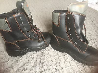 STIHL Chainsaw Boots Size 43 Never Been Used & Unboxed