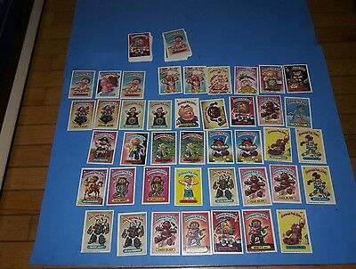 Garbage Pail Kids Lot 150 Cards Series 2,3,4,5, GPK Two Rare Promotional Posters